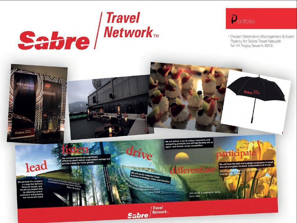 Event & Concierge Management for Sabre International