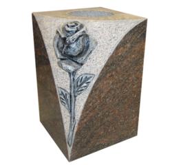 Craved Rose Vase