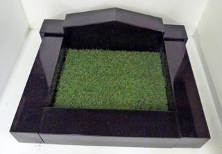 Kerb Set with Artificial Grass