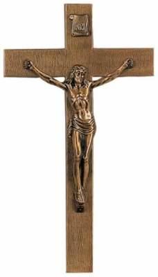 Bronze Jesus Cross