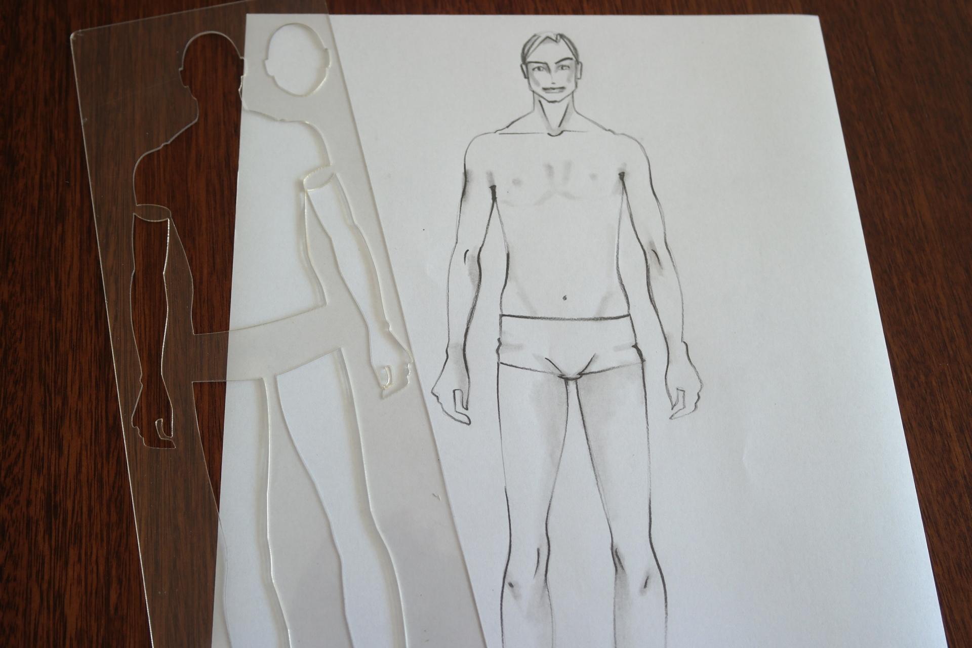 Régua Corpo Masculino