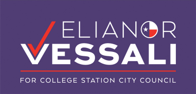 Elianor Vessali for College Station City Council, Place 1