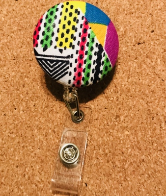 NEW! Velcro Badges