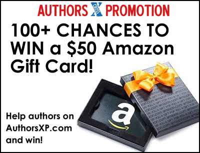 Enter to win $50.00 gift card by following me and other exciting authors!