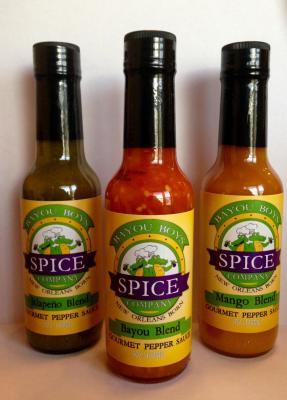 Bayou Blend Gourmet Pepper Sauce