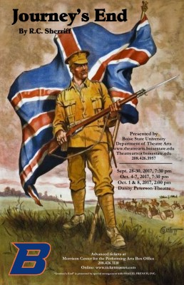LAST WEEKEND TO SEE HIGHLY ACCLAIMED WORLD WAR ONE DRAMA  AT THE DANNY PETERSON THEATRE IN THE MORRI