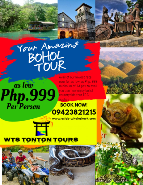 BOHOL COUNTRYSIDE TOUR