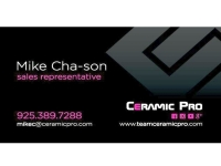 Ceramic Pro Representative Card