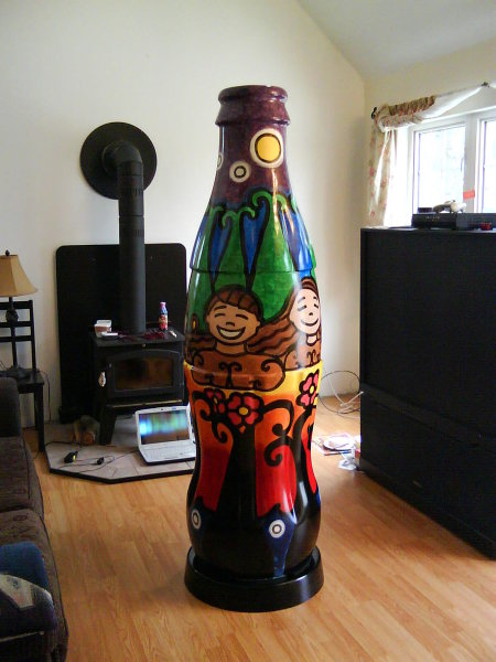 Coke Bottle Art