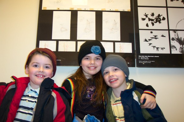 The kids at the NFB in Montreal