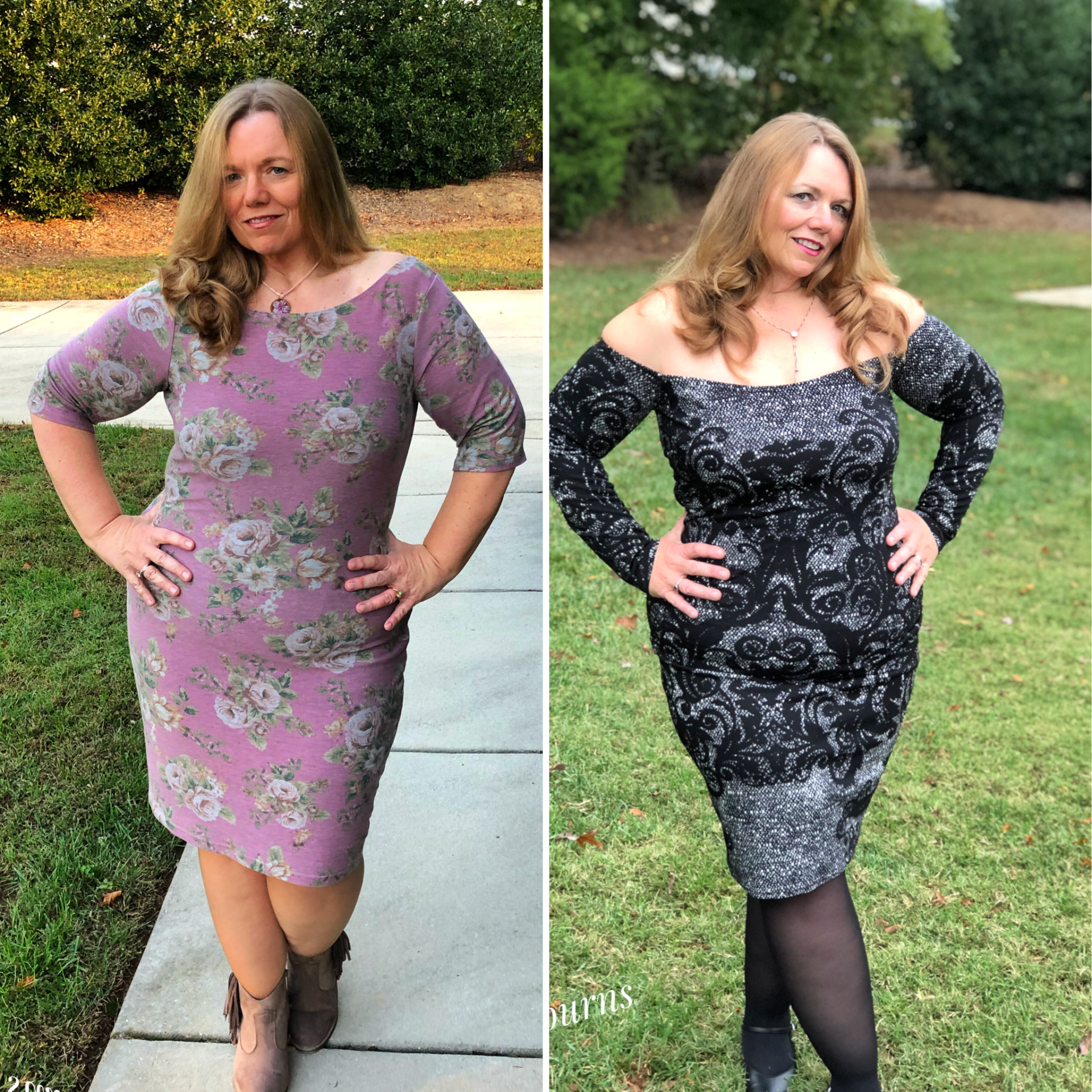 Celebrate your figure with the Wiggle Dress by P4P