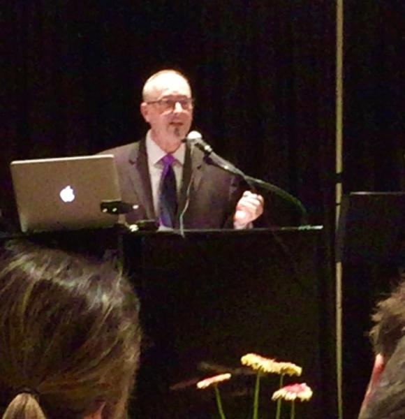 Robert Speaking