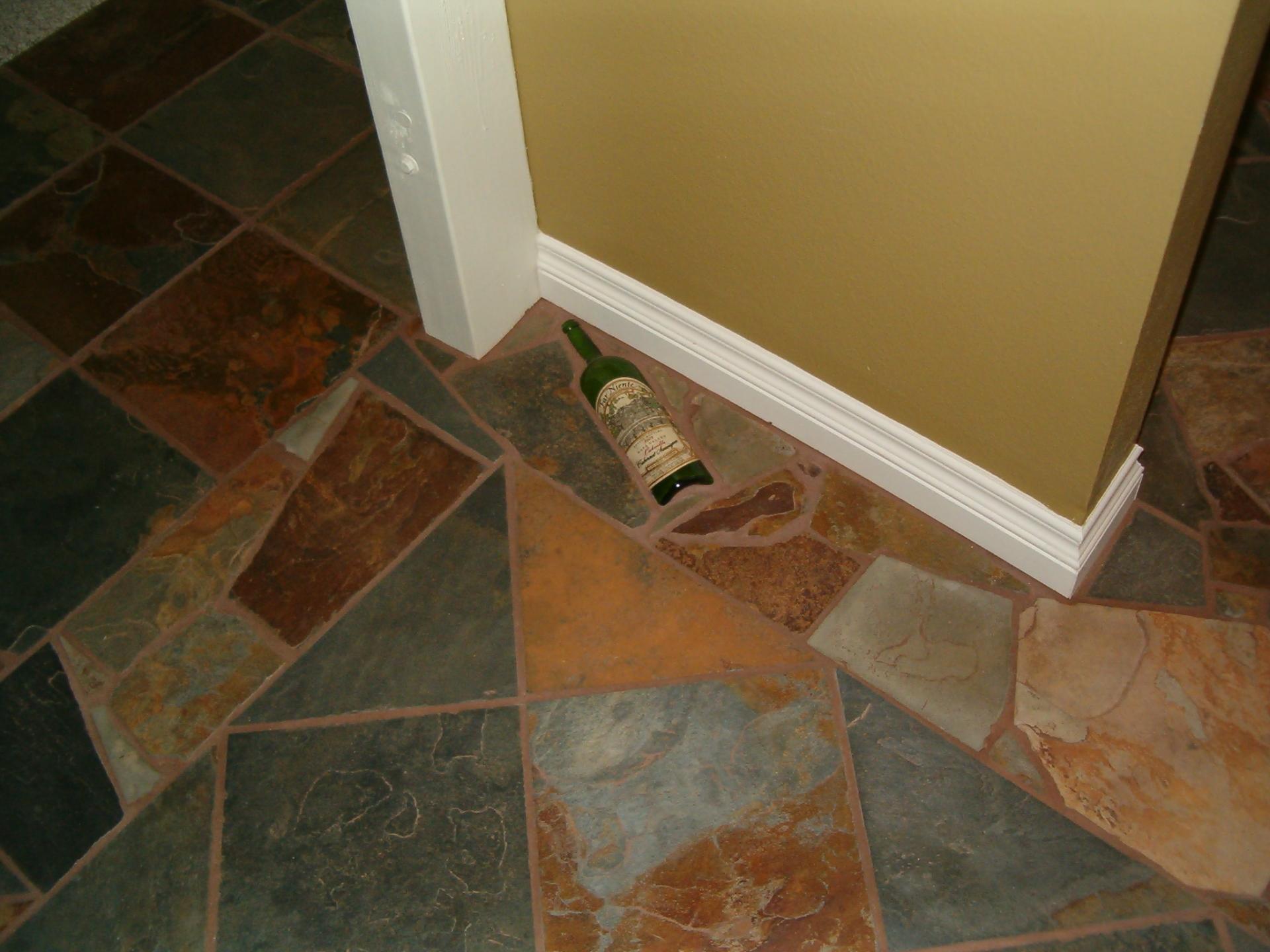 Kitchen Floor Bling