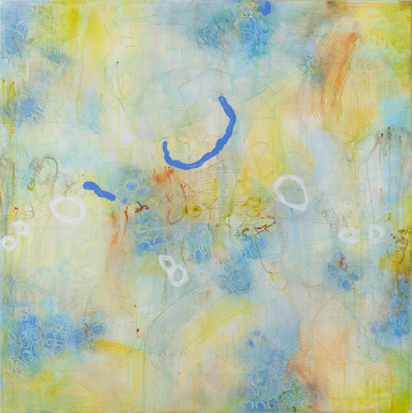 """The Energy of Renewal 1"", 36""X36""X1.5"", $1350.00. Available from Koyman Galleries, Ottawa, ON."