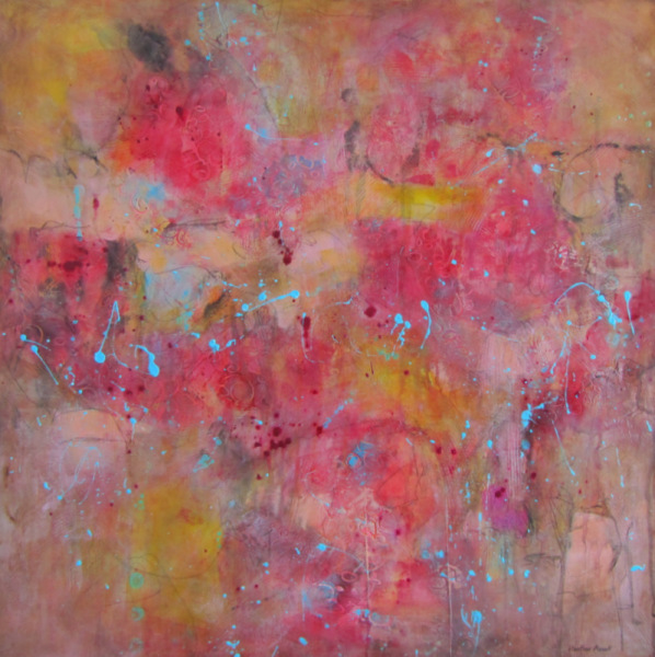 """Wishful Thinking"", 30""x30""x1.5"", $1045.00, Available from Koyman Galleries, Ottawa, ON."