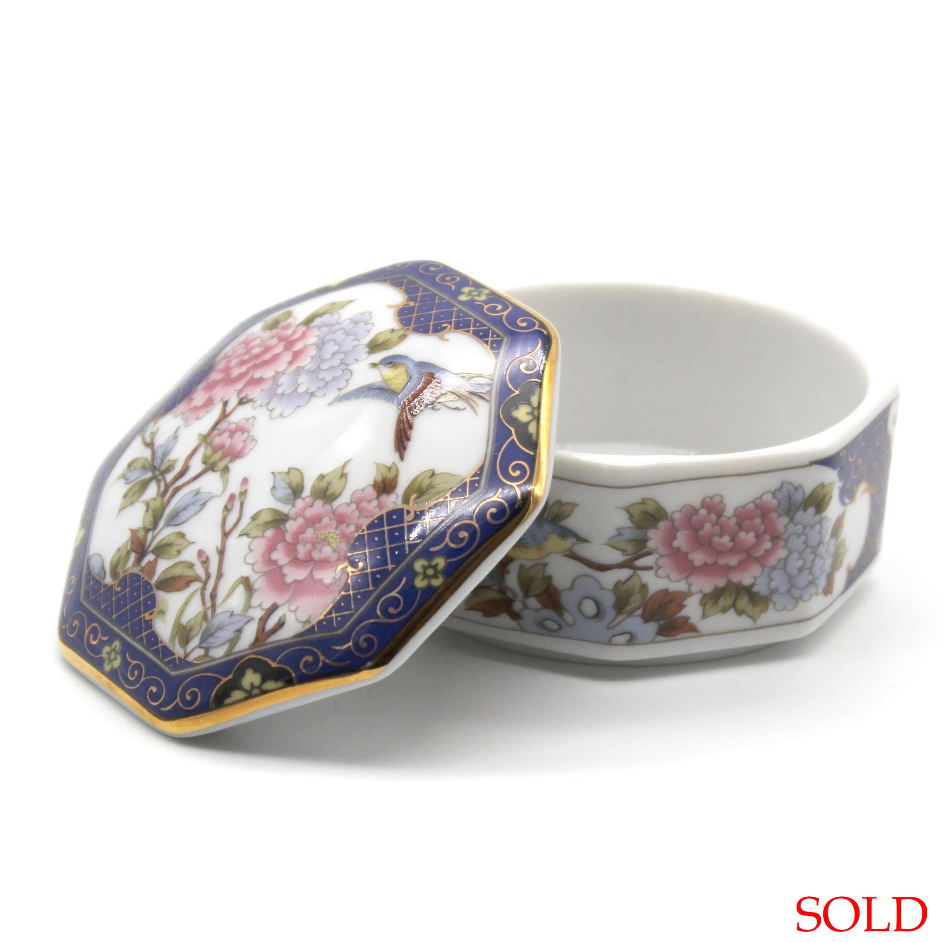 SOLD Eiwa Kinsei Japanese Porcelain Box