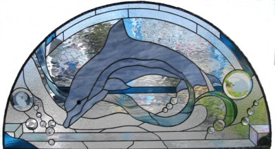 Dolphin Abstract