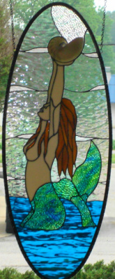 Mermaid With Nautilus Shell