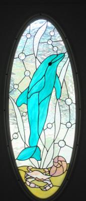 Dolphin Door Panel