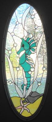 Seahorse Door Panel