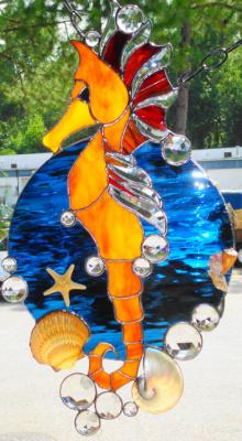 Seahorse With Sea Shells