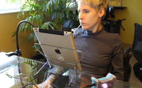 Επιχειρηματικές ιδέες: smart phones για ανθρώπους με κινητικές δυσκολίες.