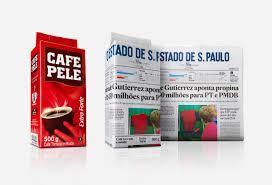 Επιχειρηματικές ιδέες: Στη Βραζιλία ο καφές τυλίγεται σε ημερήσιες εφημερίδες.