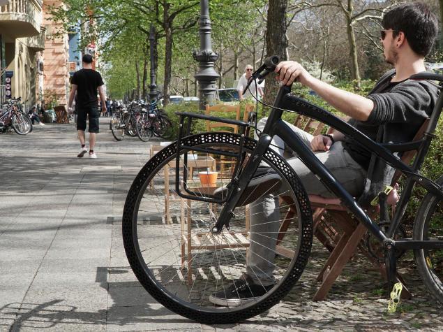 Επιχειρηματικές ιδέες: Τώρα τα λάστιχα του ποδηλάτου δεν θέλουν αέρα!