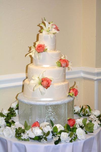 Wedding Cake Table Decor