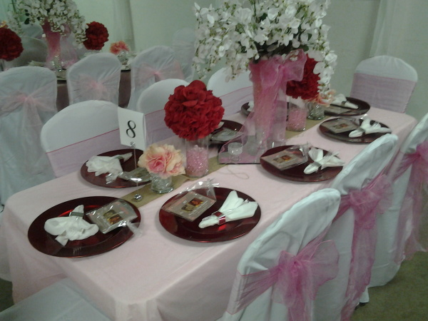 Birthday Party, Guest Table