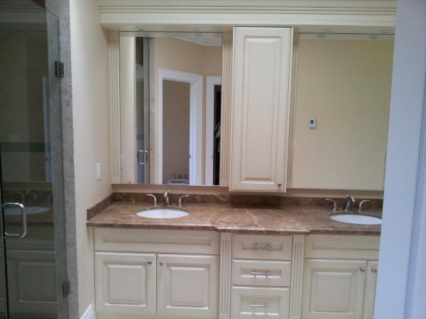Kitchen and Vanity Installation