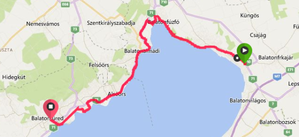 Expedice NOTALAB - Běžecky kolem Balatonu