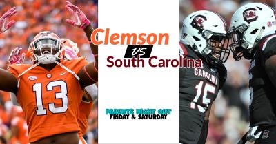 Clemson vs South Carolina