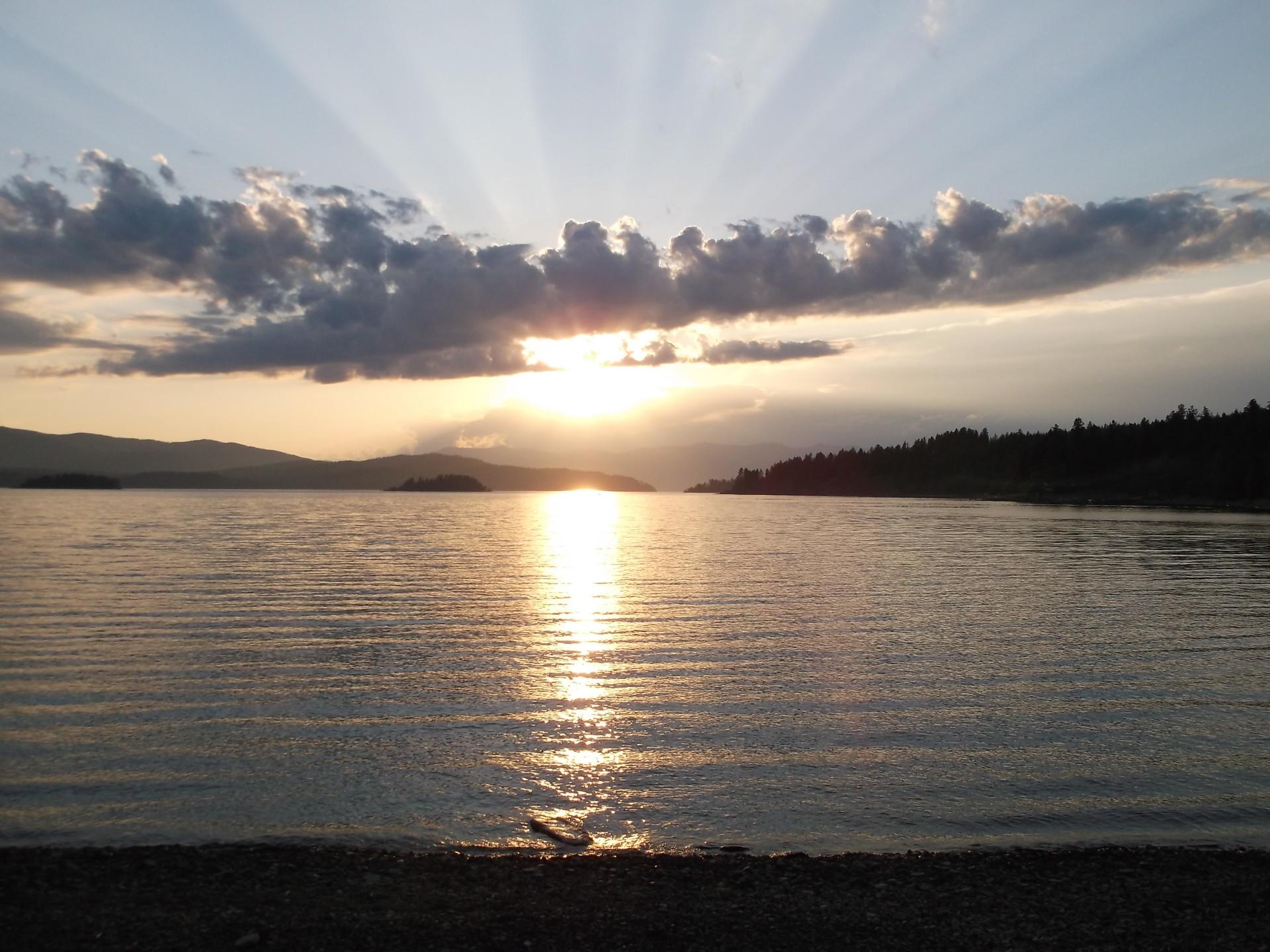 Idaho, Truth, Freedom, Love, Nature, Sunset