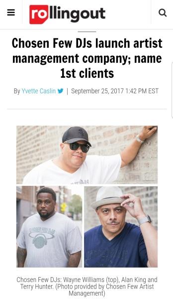 Chosen Few Artist Management, Inc.