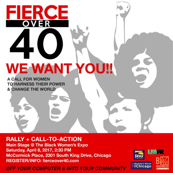 Fierce Over 40 women's action initiative