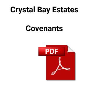 Crystal Bay Covenants