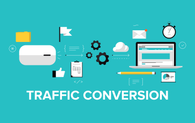 Amount of conversions through search engines