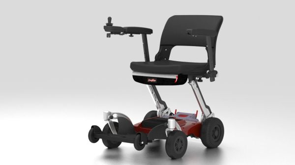 folding power chair, travelrider, Luggie, FreeRider, 320lbs, lithium-ion,