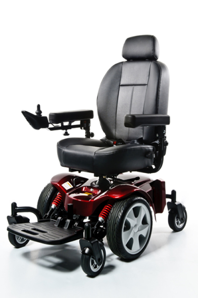 Very heavy-duty, power chair, luggie, FreeRider,
