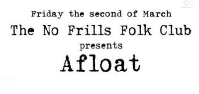 """""""The No Frills Folk Band"""" 17th November"""