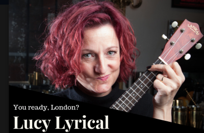 2nd December 2pm - 4pm Lyrical Lucy will be onstage