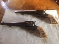 TWO 357 MAG UBERTI OUTLAW