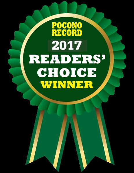 2017 Pocono Record Reader's Choice Award