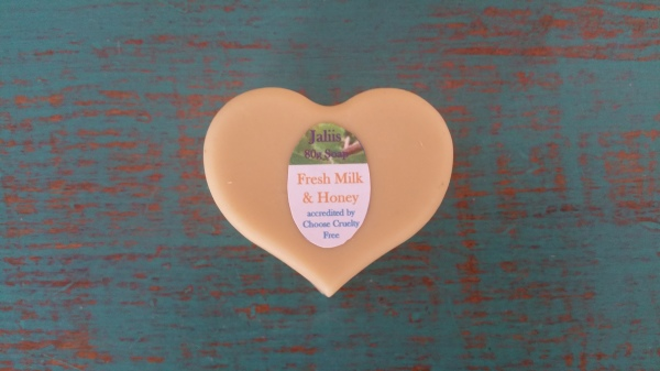 Fresh Milk & Honey Soap 80gm  $4.00