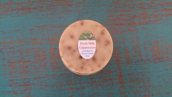 Fresh Milk Cappuccino Soap 80gm $4.00