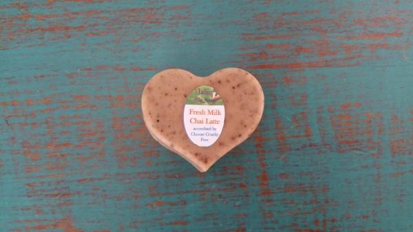 Fresh Milk Chai Latte Soap 80gm $4.00