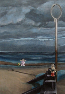 Astro Boy and Astro Girl