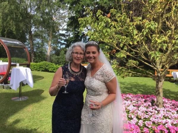 Bernie and Bride Emma