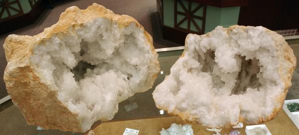 Quartz Geode from Mexico